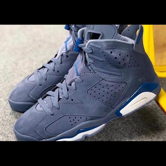 Jordan Shoes | Boys Gs Navy Blue Suede